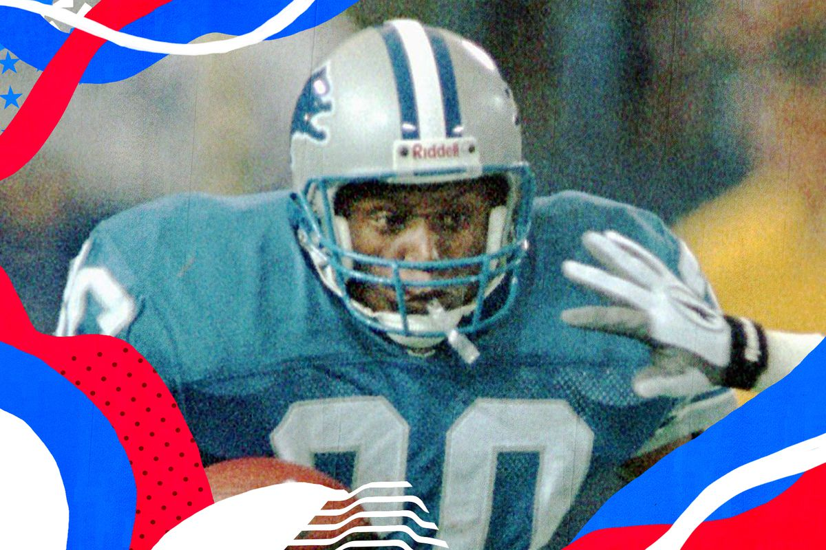 3b79a57d Happy 51st birthday to Barry Sanders, the greatest running back of all time