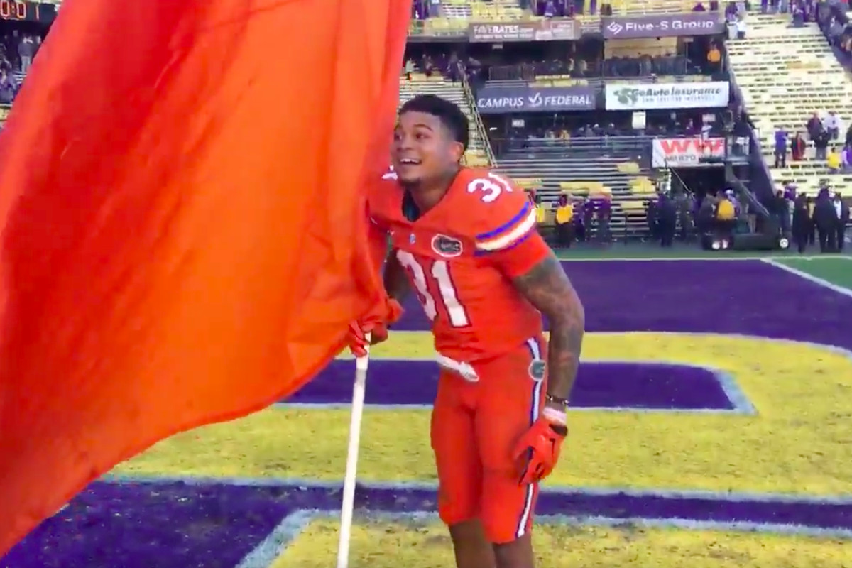 Florida beat LSU, then sang the Tigers' extremely hype rap