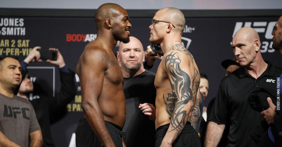 UFC 235 Results: Jones vs. Smith - MMA Fighting thumbnail