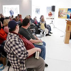 """BYU graduate James Dashner recently visited eight major U.S. cities to promote his book """"The Maze Runner."""""""
