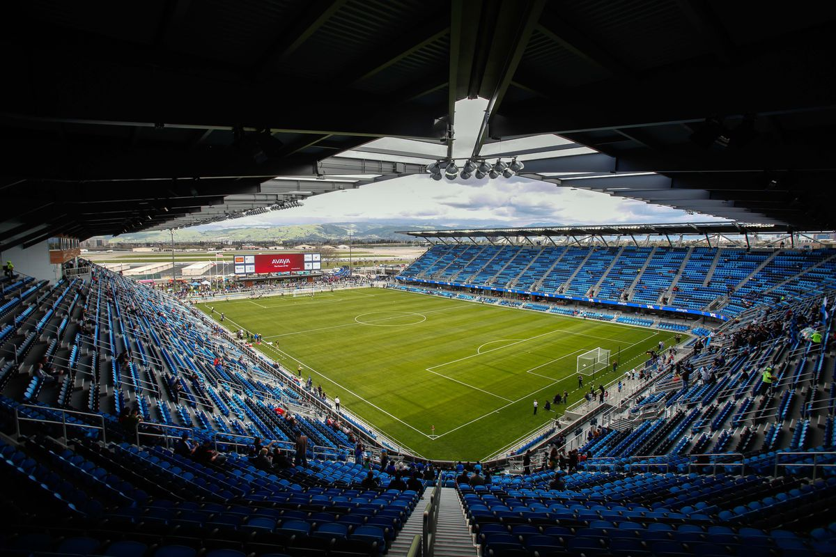 Avaya Stadium, the open end is America's Largest Outdoor Bar.