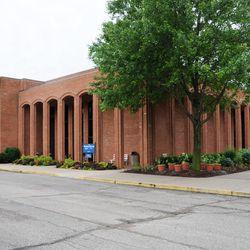 The LDS visitors center, Nauvoo, Illinois.