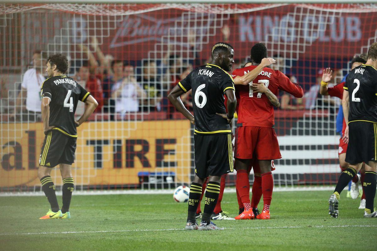 MLS: Columbus Crew SC at Toronto FC