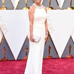 """Congrats to Joy Mangano, a.k.a. the real """"Joy,"""" for nabbing an Oscars invite. Photo: Jason Merritt/Getty Images"""