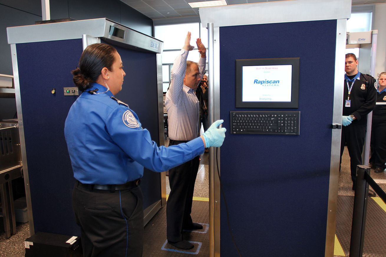 New Full Body Scanners At Logan Airport
