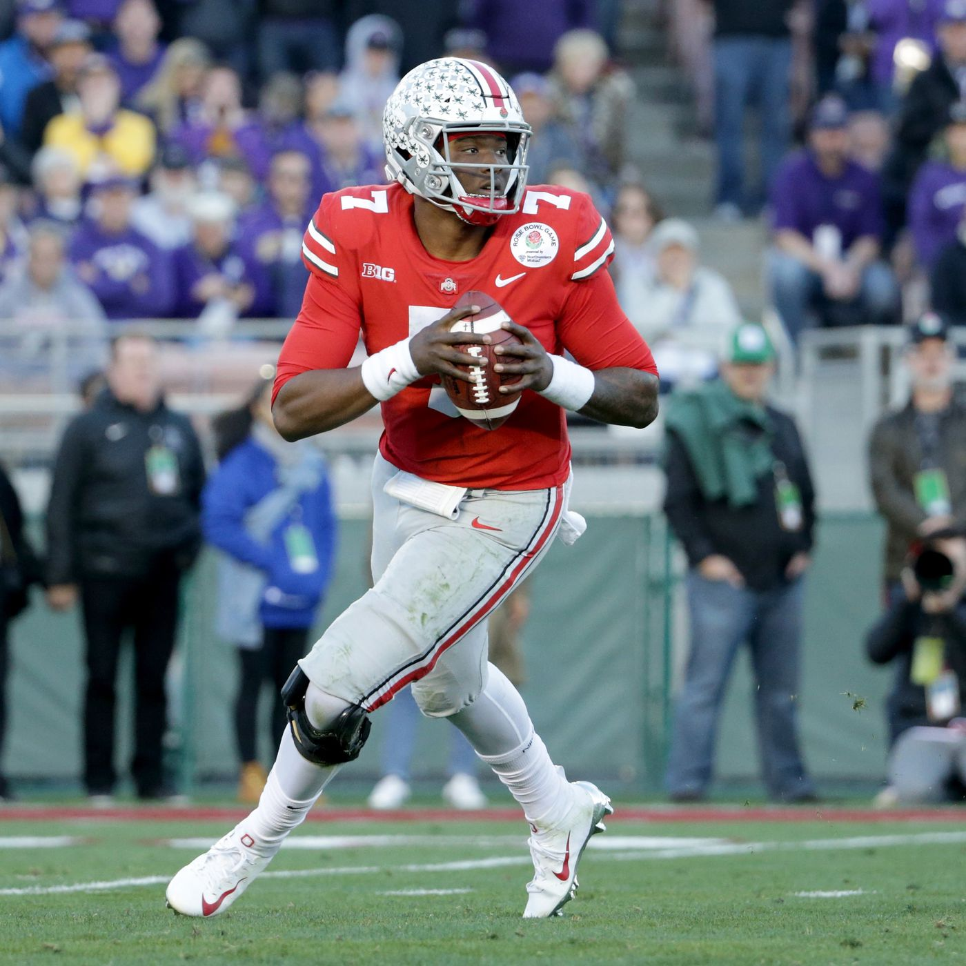 893cc9beb57 Dwayne Haskins shows out at Ohio State's Pro Day - Land-Grant Holy Land