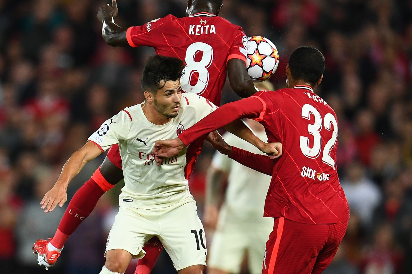 AC Milan Lose 3-2 To Liverpool In Thrilling Champions League Opener