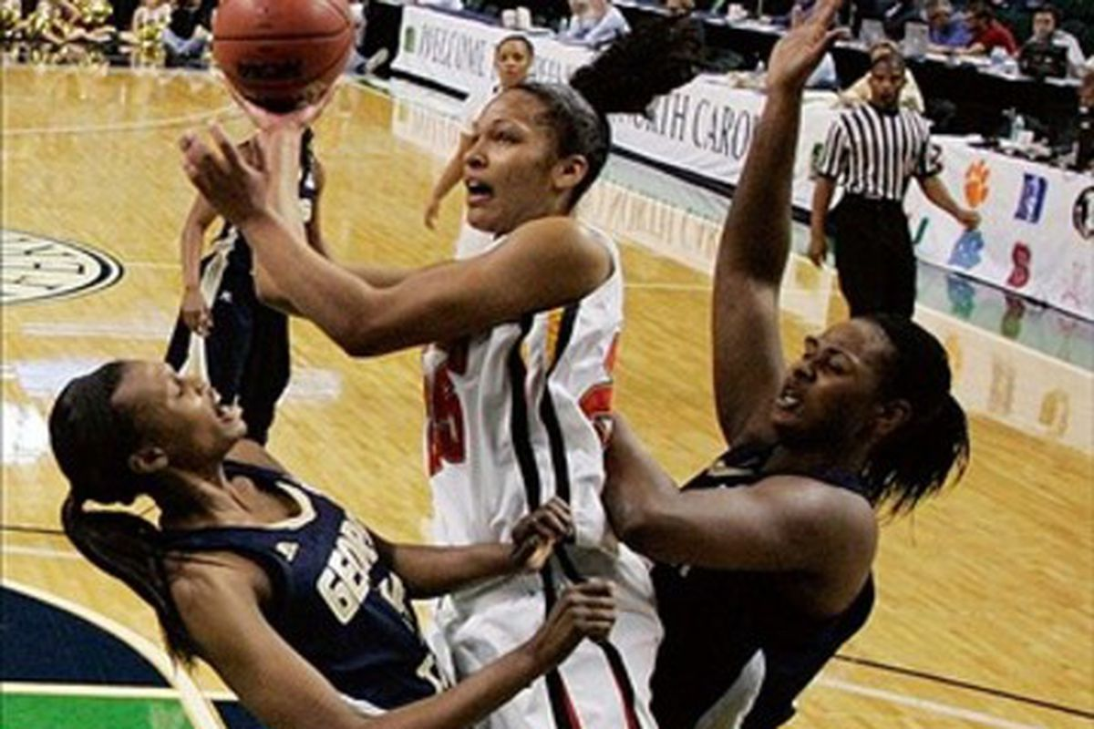 Alyssa Thomas is the only Maryland women's basketball player to have been honored as ACC Player of the Year multiple times.