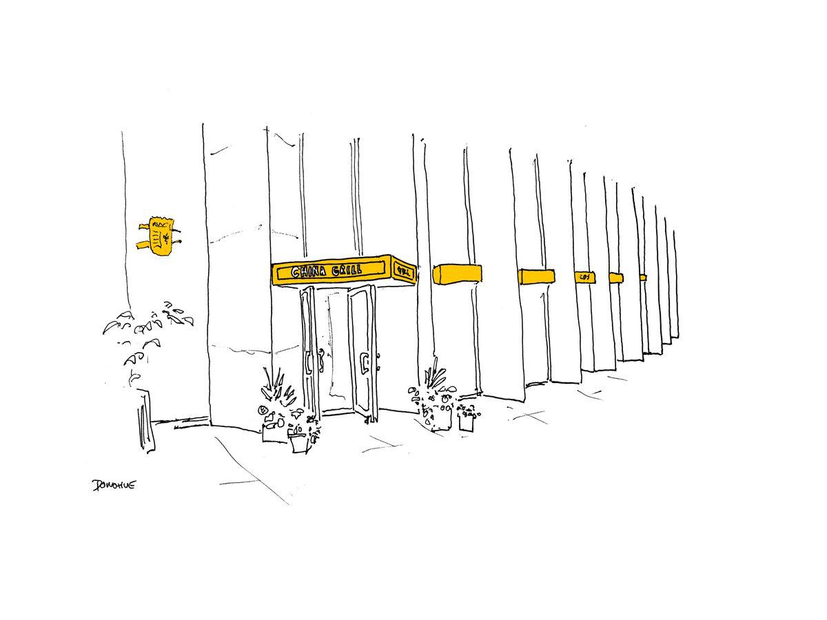 China Grill illustration