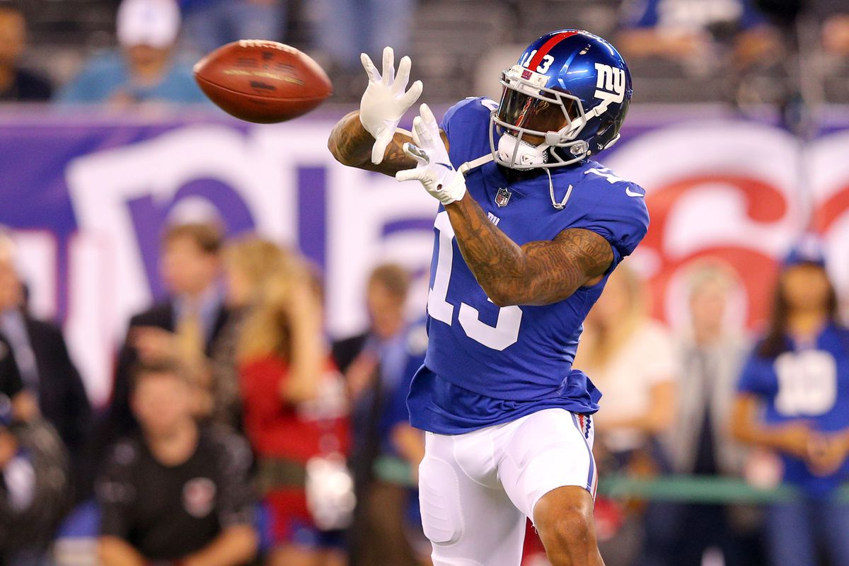 Trade Odell Beckham Should the Giants really consider that Big