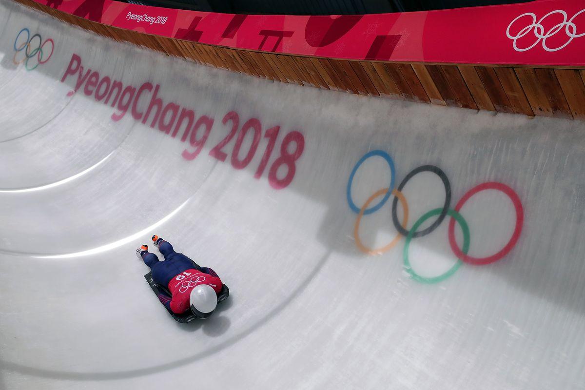 Skeleton Training - Winter Olympics Day 3