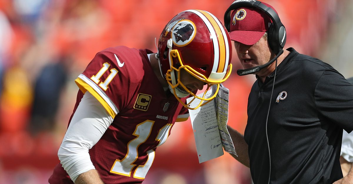 The 5 O'Clock Club: The Redskins after 5 games & Gruden's 'make or break' year