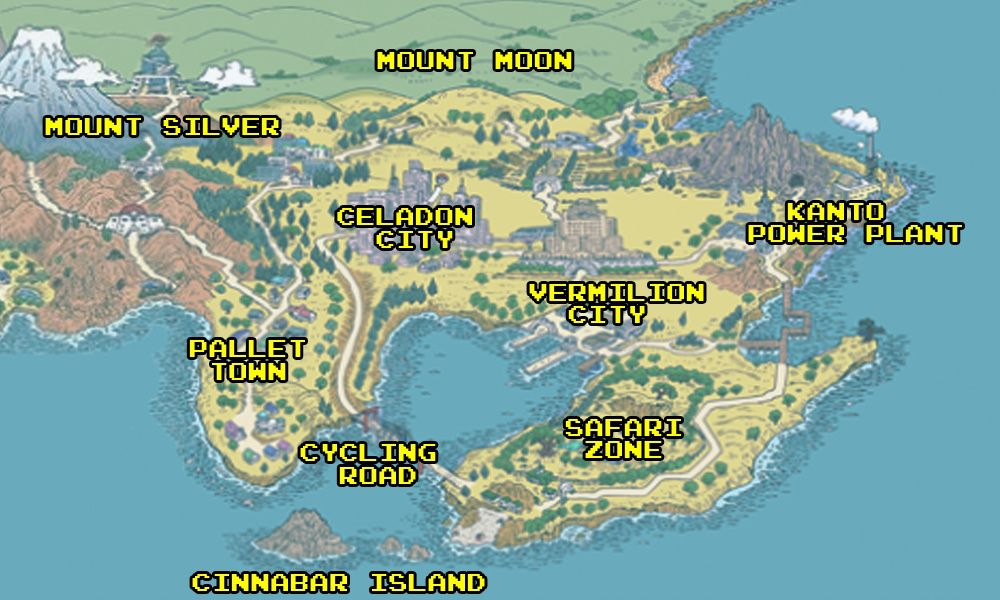 How Pokémon\'s world was shaped by real-world locations - Polygon