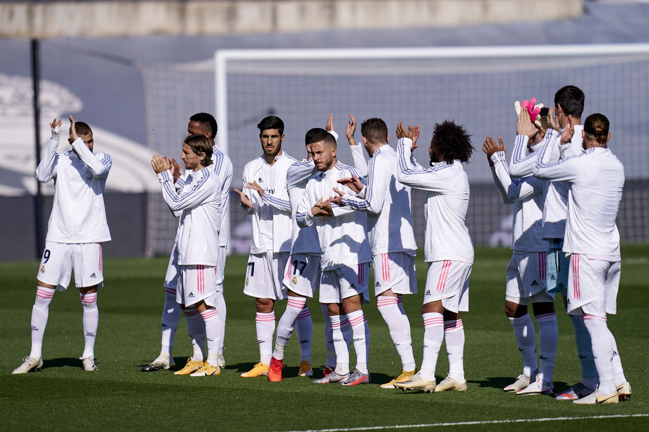 Real Madrid announce squad for Champions League match against Inter Milan