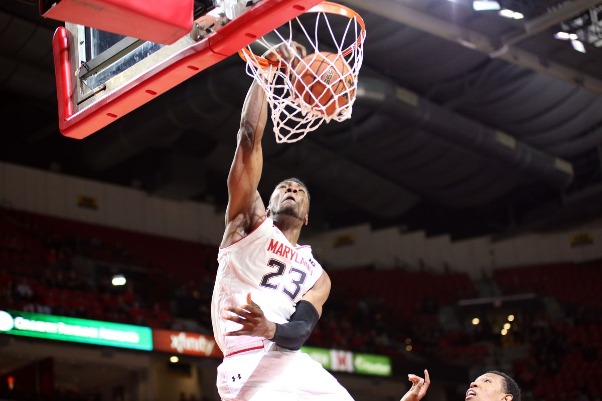what bruno fernando s return means for maryland basketball testudo