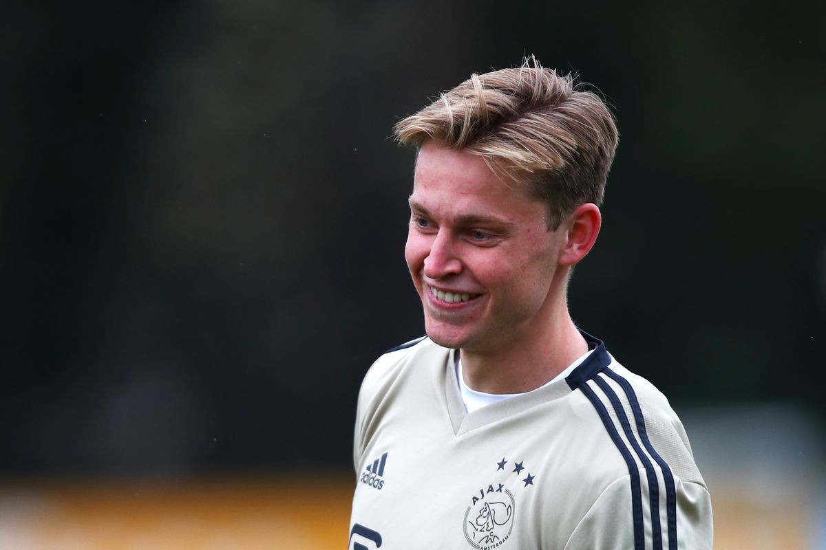 Ajax Training and Press Conference