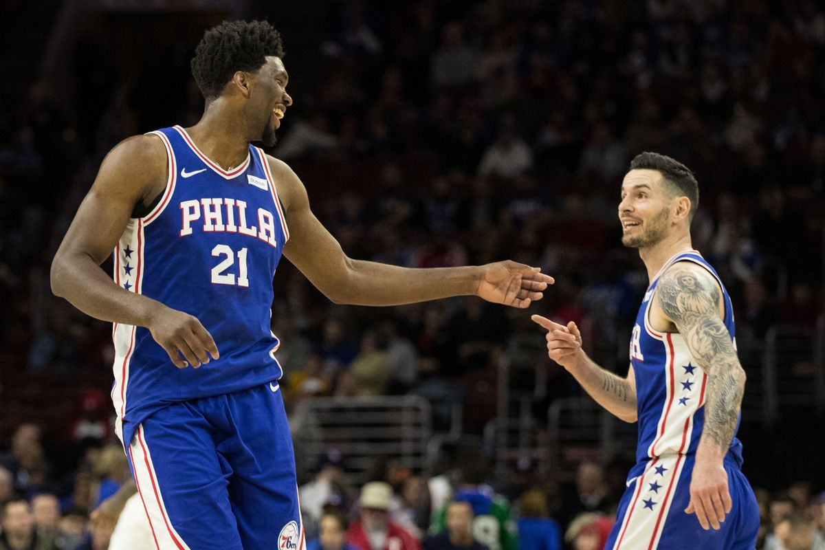 A deep dive into the Philadelphia 76ers  odd couple - Liberty Ballers a965d1dd4
