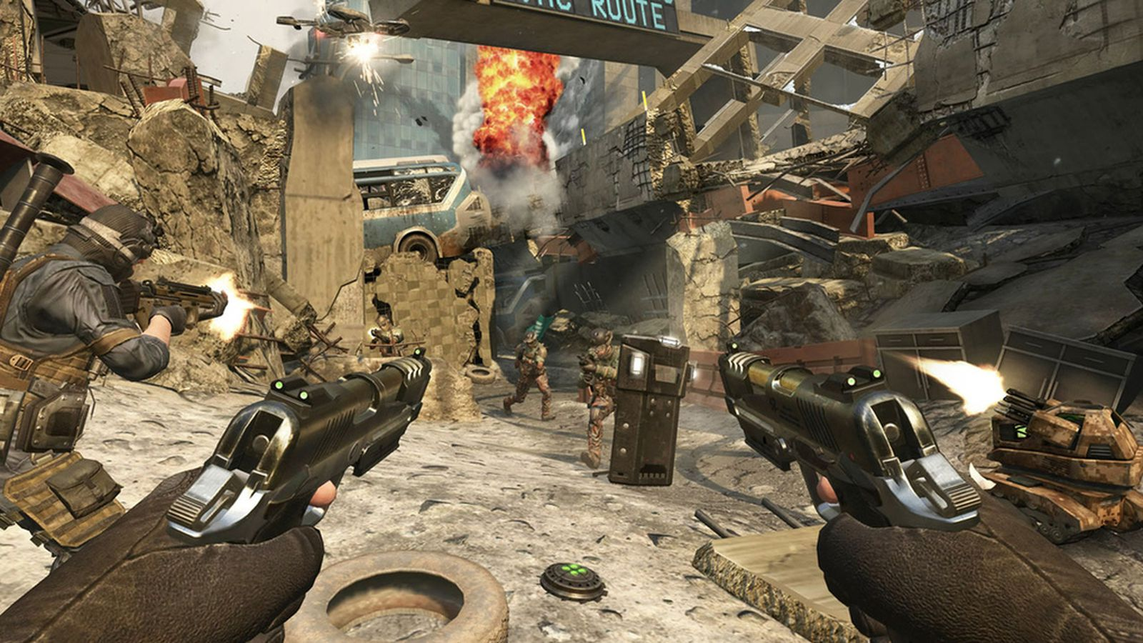 'black Ops 2' And Treyarch's New Rules For Call Of Duty Multiplayer Polygon