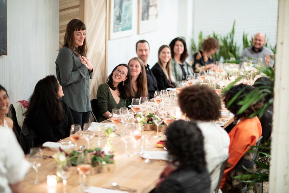 A the Table dinner