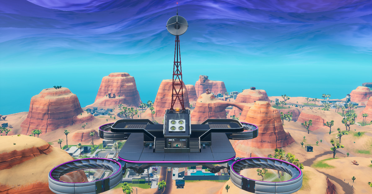 Fortnite Sky Platforms maps, location, and guide - Polygon