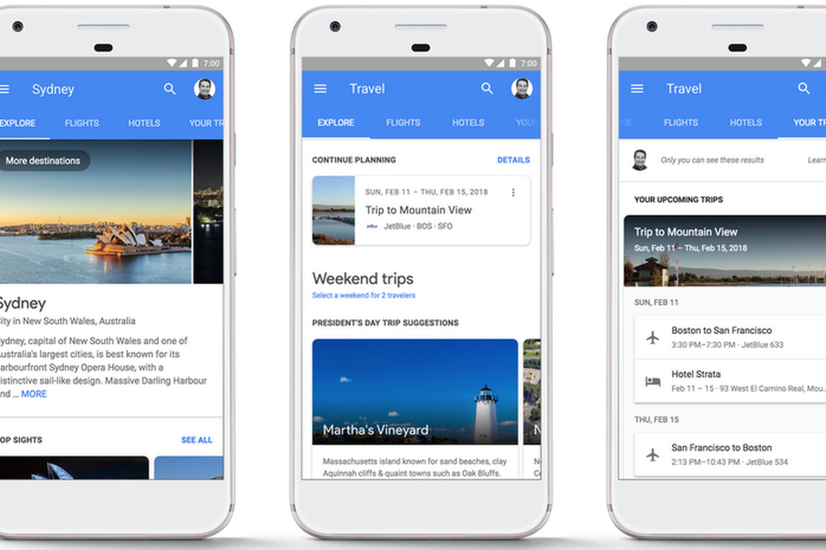 Google made it easier to book hotels and flights through search results