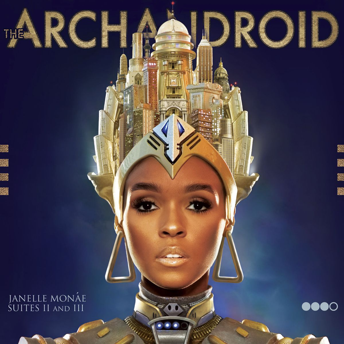 """This cover image released by Bad Boy/Wondaland shows """"The ArchAndroid"""" by Janelle Monae."""