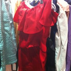After a quick steam, this $75 frock will be as good as new!
