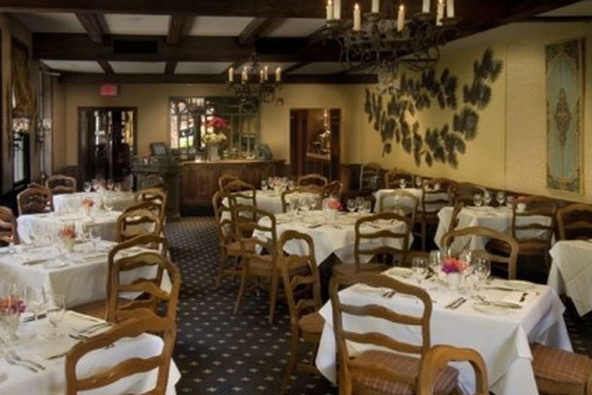 The dining room at Stella!