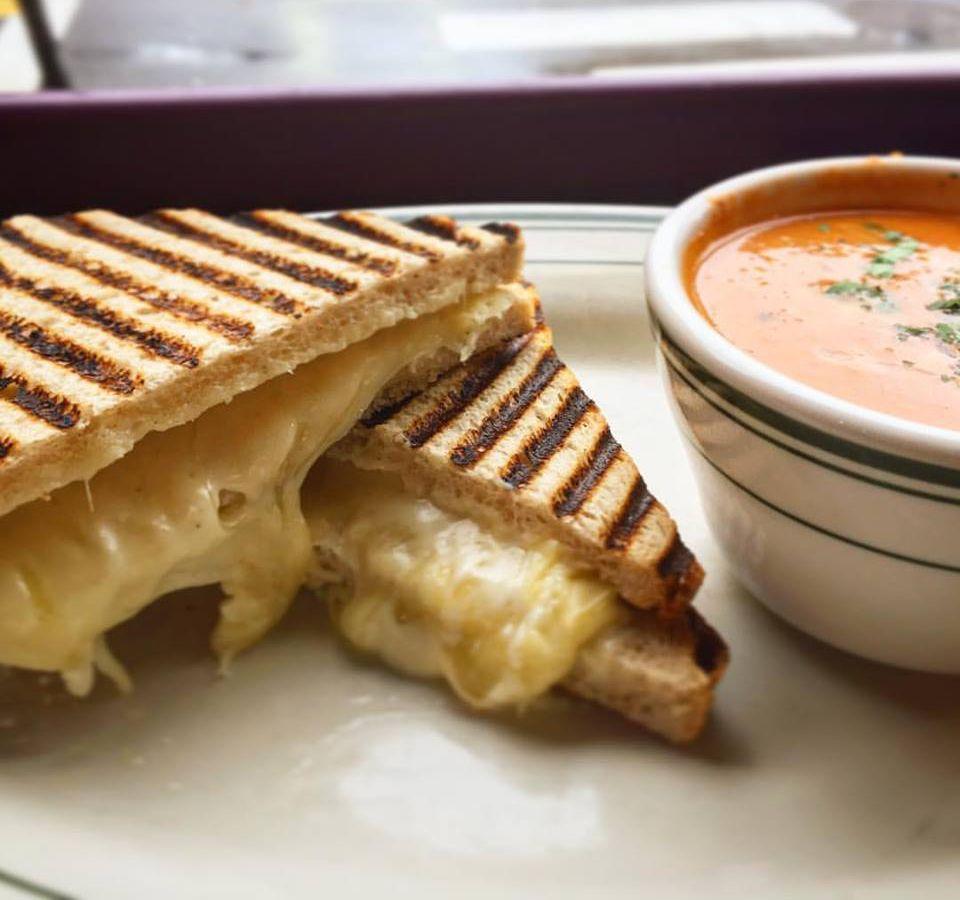 All Star Sandwich Bar grilled cheese