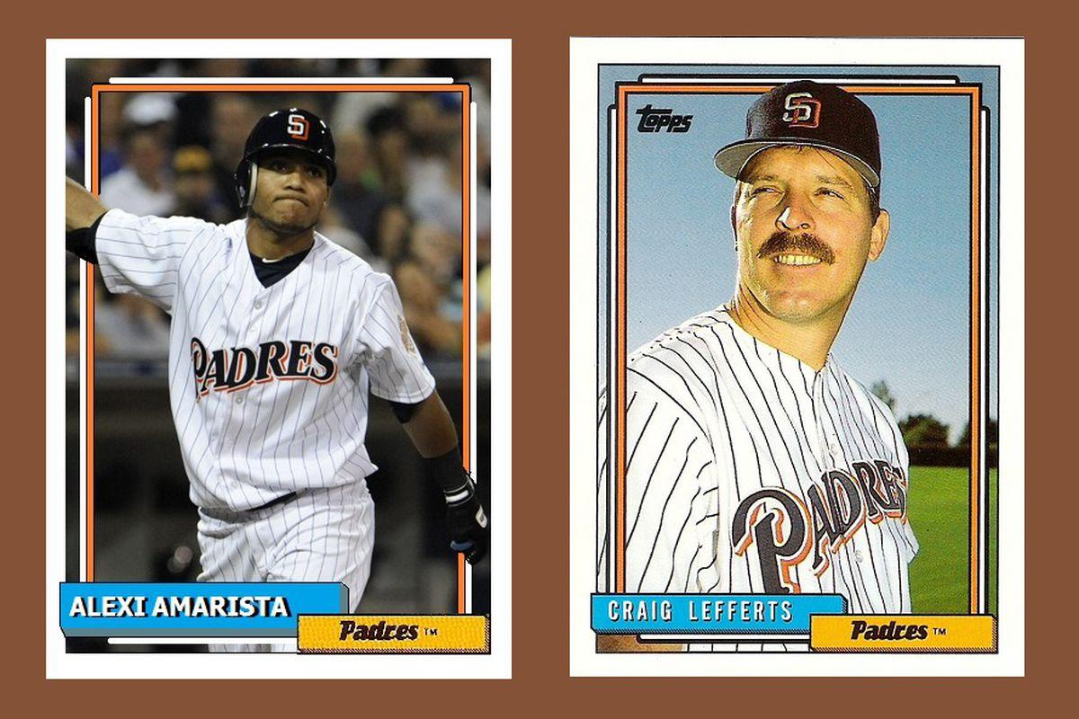 Five Non Existant Baseball Cards Of Alexi Amarista Gaslamp