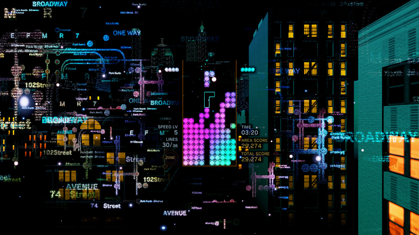 Tetris Effect is perfect for people overwhelmed by modern