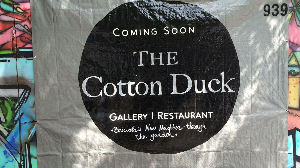 [Photo courtesy of Cotton Duck]