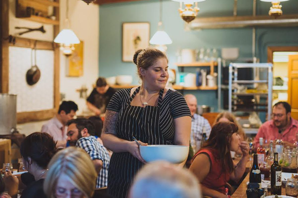 Chef Maya Lovelace of the Mae Pop-Up