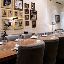 The private dining room