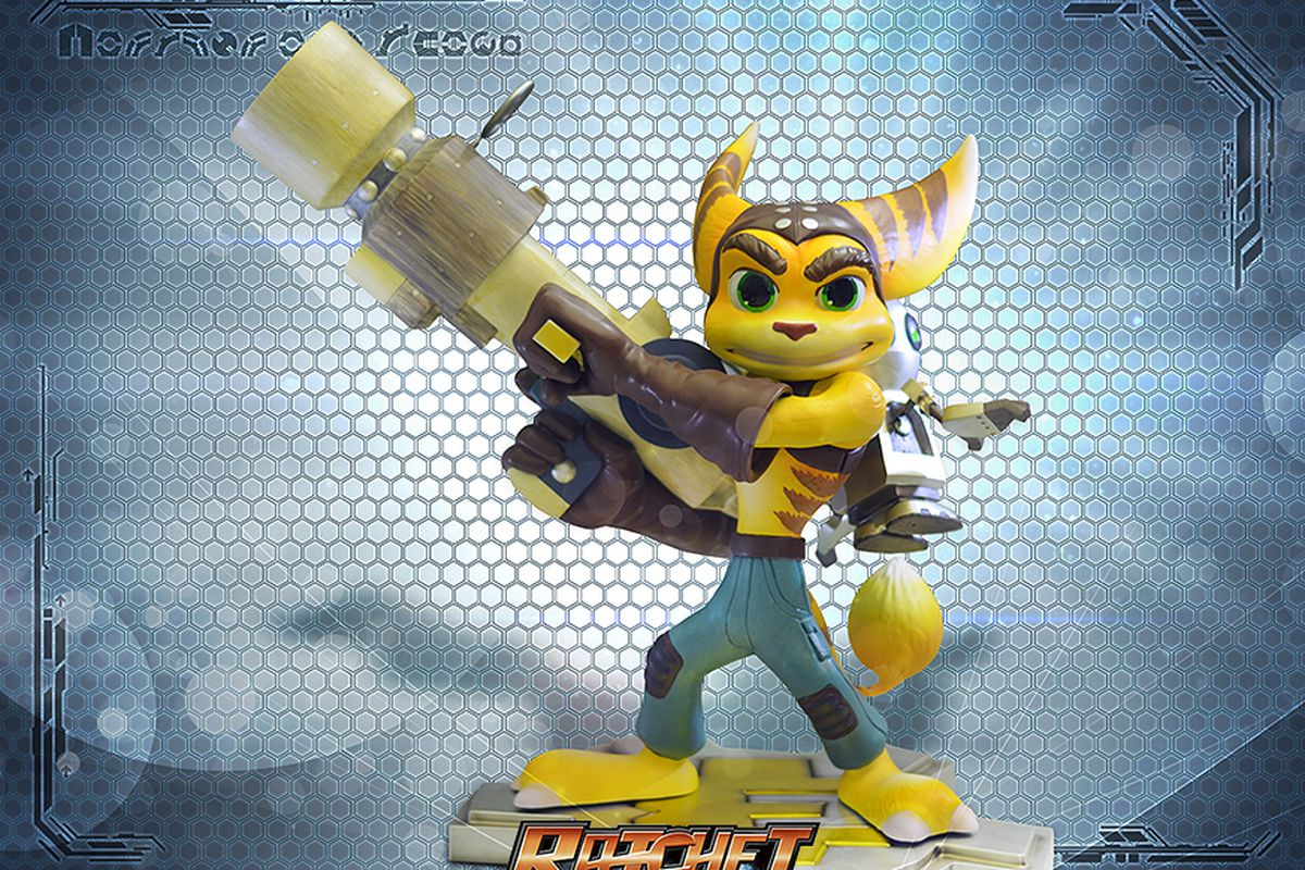 Limited Run Ratchet Clank Statues Coming Q4 2014 Now Up For Pre