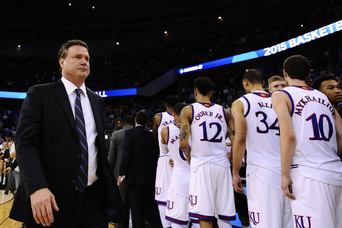Bill Self has lost to five mid-majors in 12 NCAA Tournament appearances with Kansas.