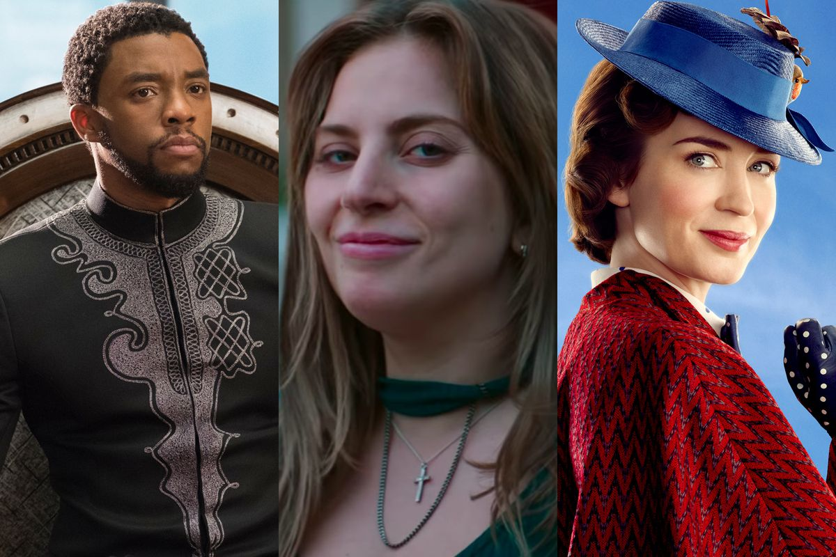 Black Panther, A Star Is Born, Mary Poppins Returns
