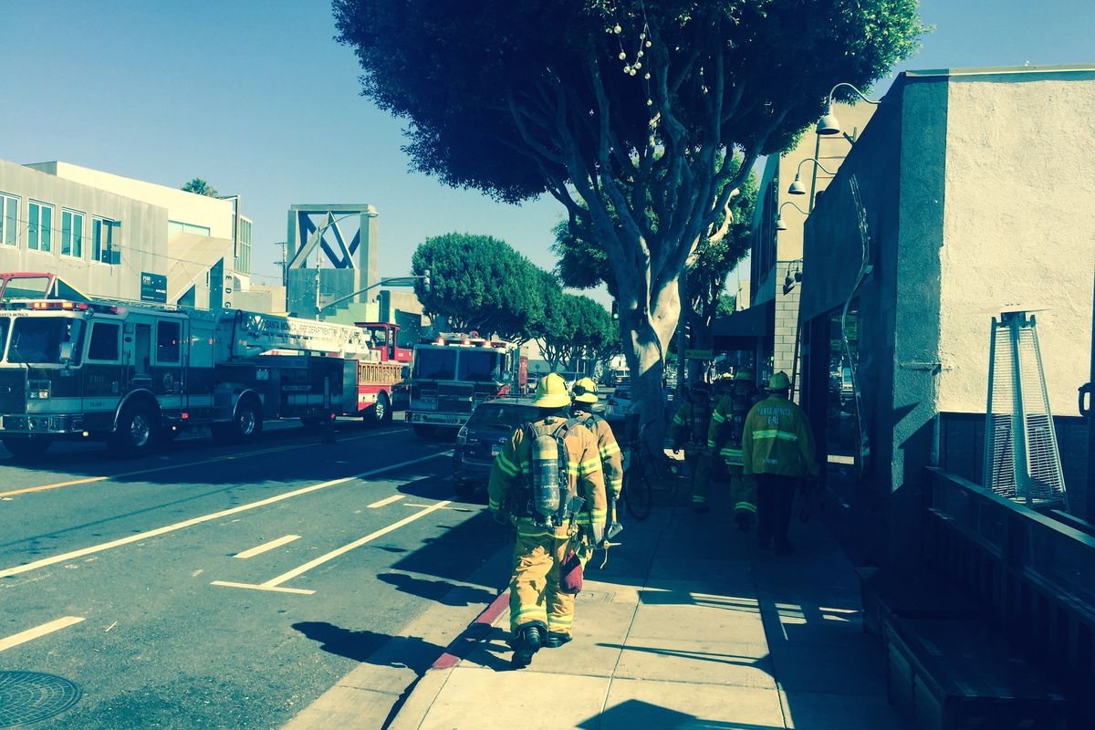 Santa Monica\'s Fork in the Road Suffered an Extensive Kitchen Fire ...