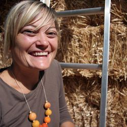 Community Rebuilds, the nonprofit organization Emily Niehaus founded, uses straw bales to insulate the affordable energy-efficient housing it builds in Moab. The organization provides education on sustainable building techniques and seeks improve housing conditions for Moab's workforce.