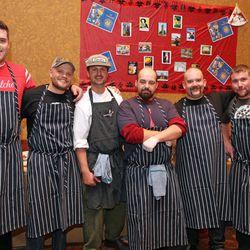 The ChoLon crew along with chef Lon Symensma