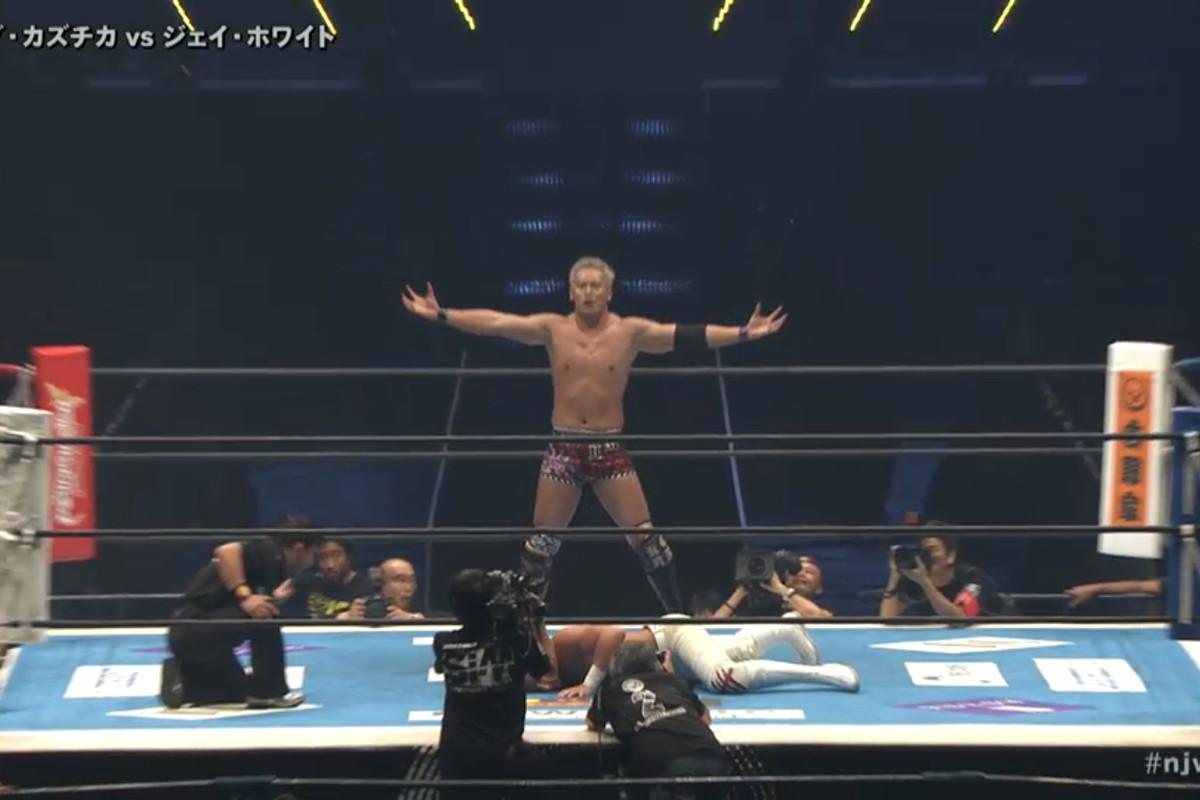 Risultati immagini per NJPW Wrestle Kingdom 13 Okada