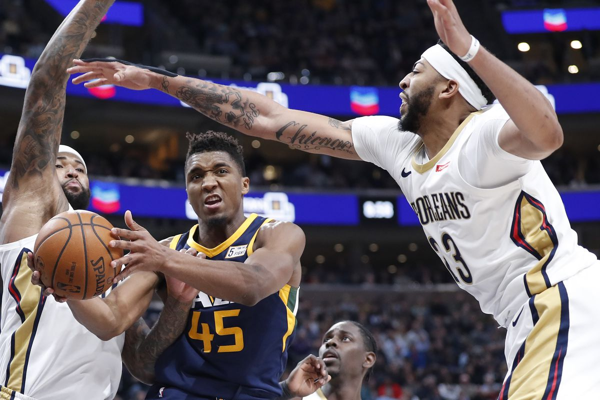 NBA Preview  New Orleans Pelicans to face stiffest of challenges against  surging Utah Jazz 93f63edda