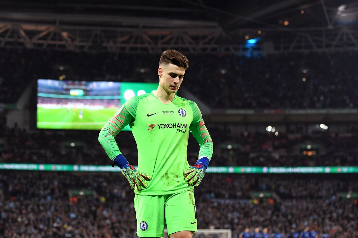 Kepa Arrizabalaga waved off a sub and became Chelsea's latest joke -  SBNation.com