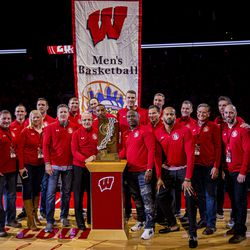 Those who could attend from the 2000 Final Four team.