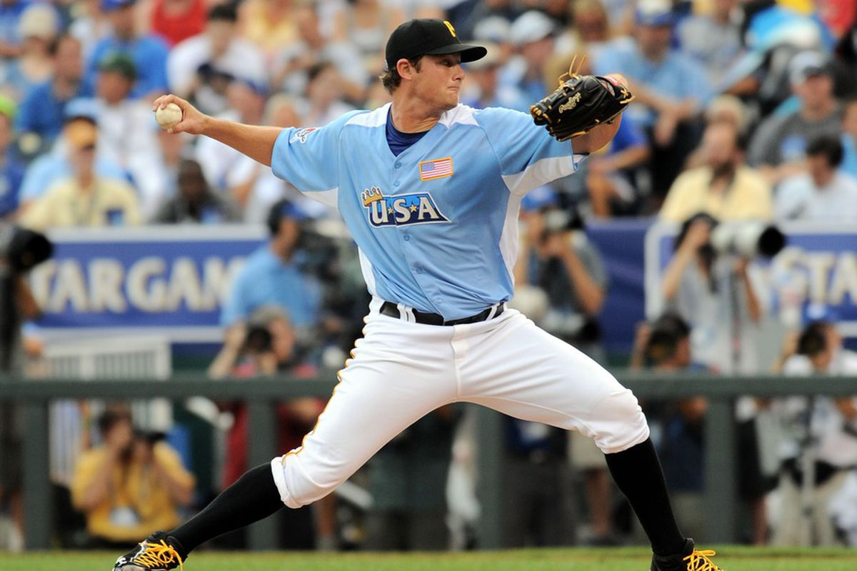 Gerrit Cole makes a fine starting point for any MiLB Fantasy roster.