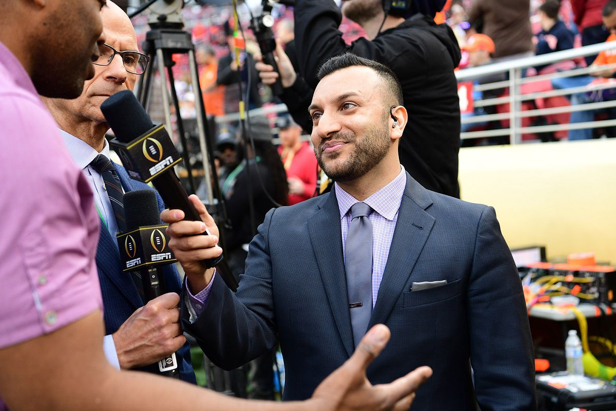 Adam Amin will be the new Bulls television announcer.