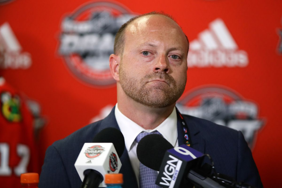 Blackhawks GM Stan Bowman active in trade talks before 2019 NHL Draft