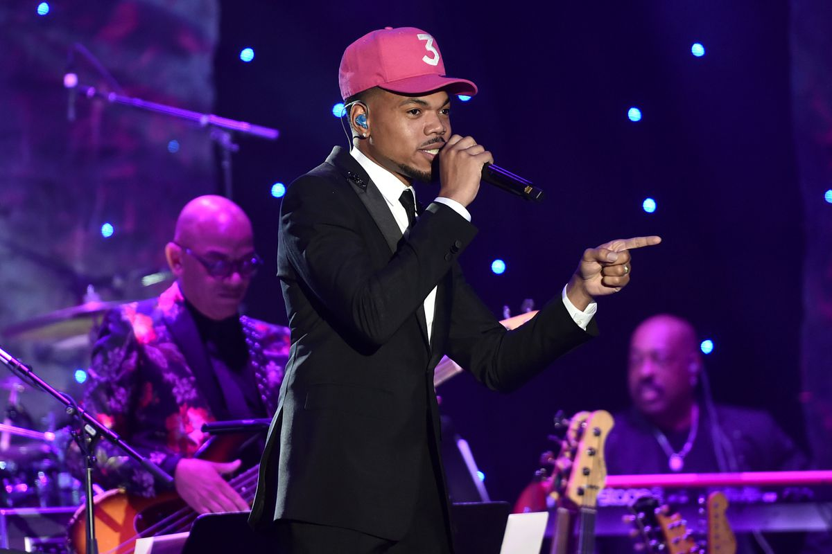"""Chance the Rapper (shown at a pre-Grammy Awards salute to Sean """"Diddy"""" Combs) will be among the stars in the Feb. 14 All-Star Celebrity Game at Wintrust Arena, as part of the special events slated for Chicago's NBA All-Star Game Weekend."""