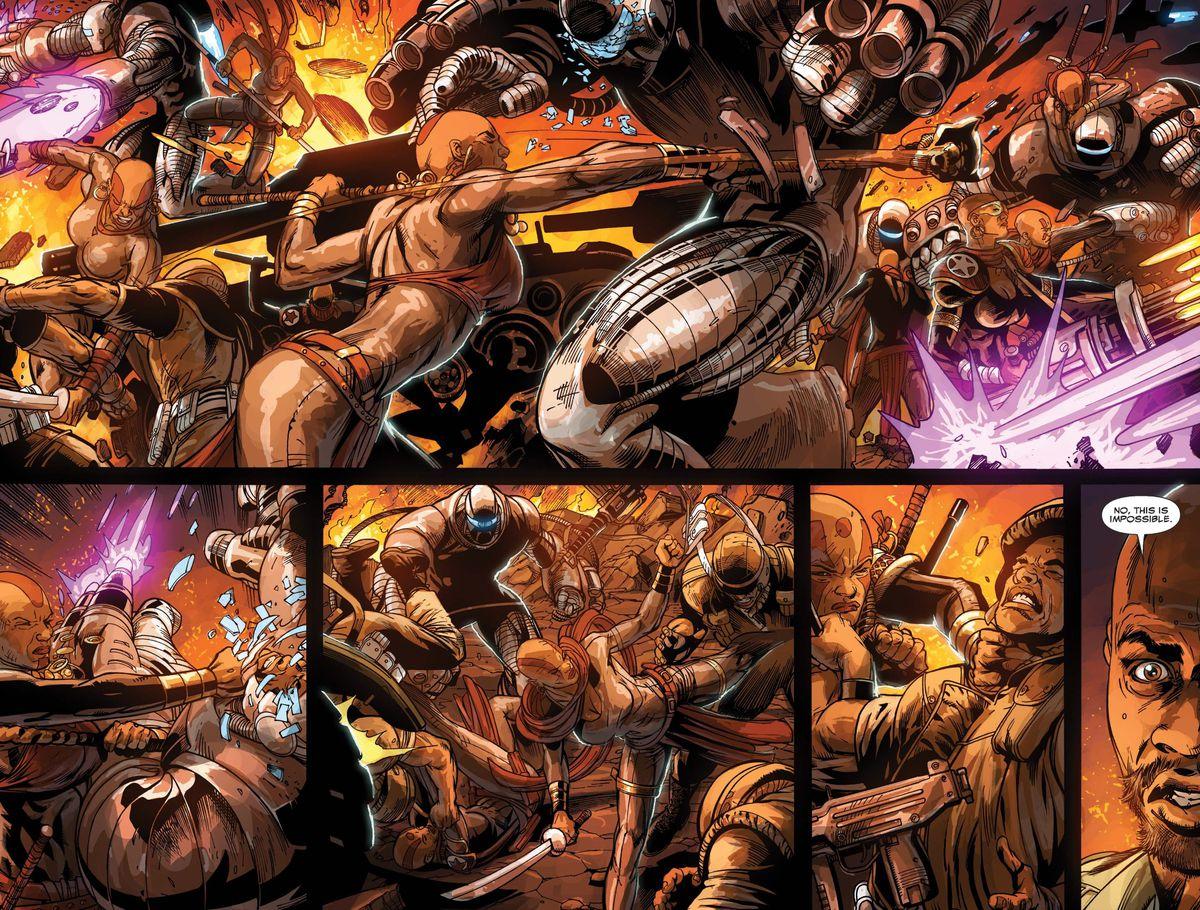 Doomwar #2, Marvel Comics (2010).