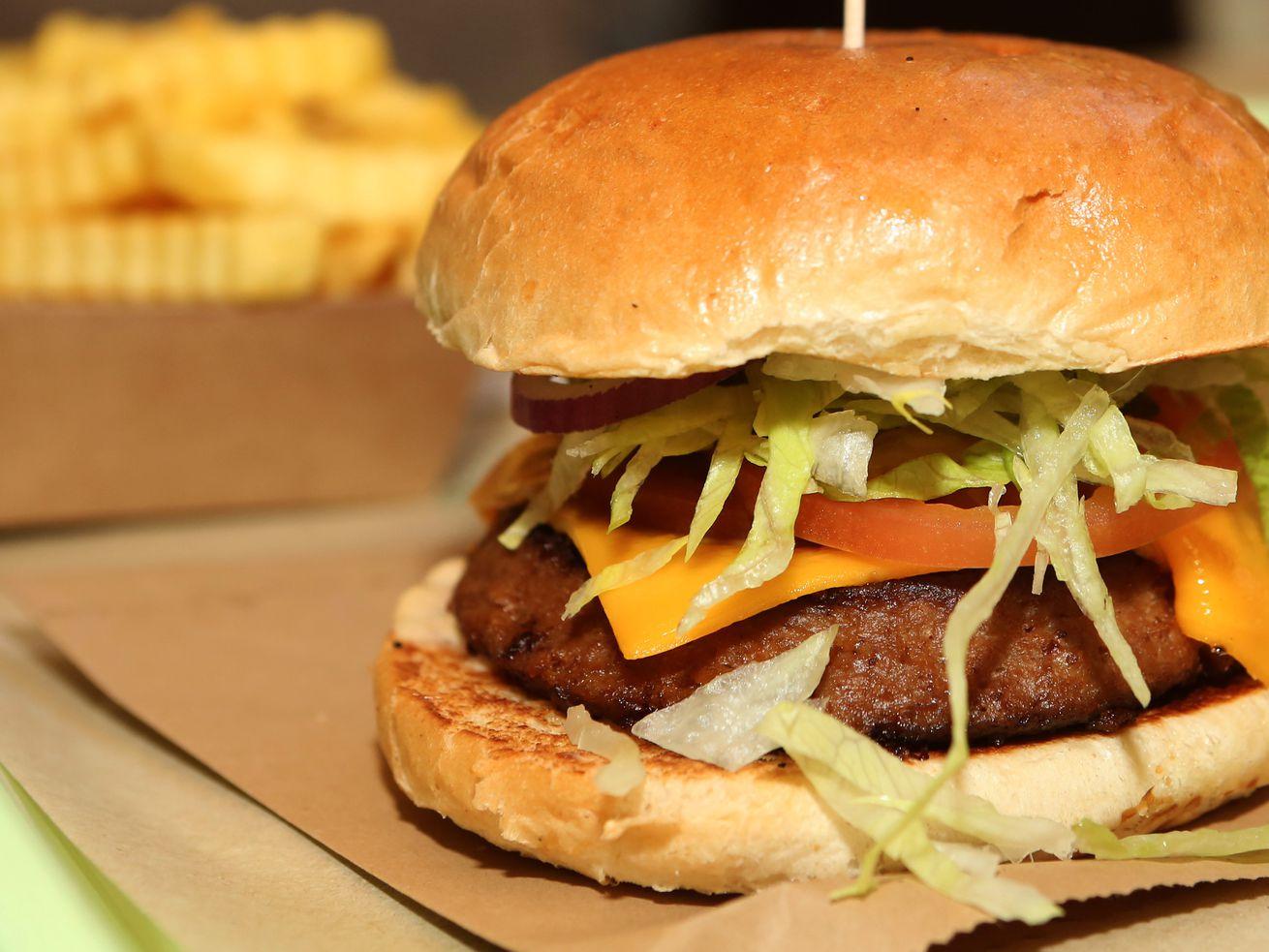 Meatless Burgers Gain In Popularity